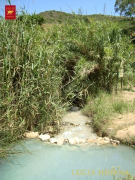 Río de Manilva junto a los baños termales de La Hedionda