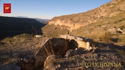SEPULCRO 133 EN LA RUTA HOYAS DEL CONQUIN ALTO