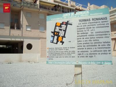 CARTEL EXPLICATIVO DE LAS TERMAS