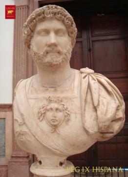 RETRATO DE ADRIANO EN MUSEO ARQ SEVILLA