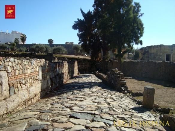 10 - CALZADA ROMANA EN DOMUS ALCAZABA - MERIDA
