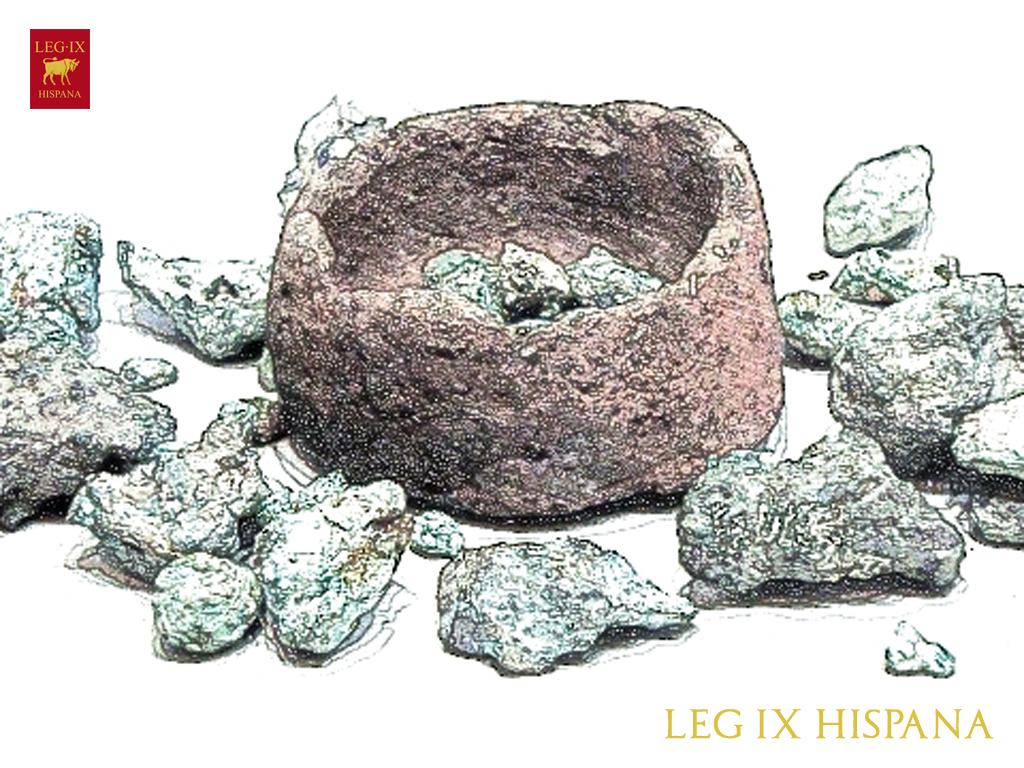 Edad de los metales legi n novena hispana - Como se limpia el bronce ...